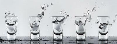 vodka shots